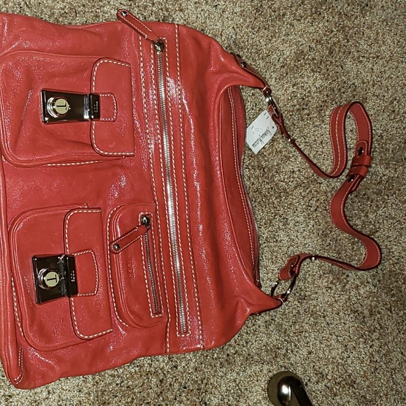 435c514f8e Tod's Bags | Vintage Tods Red Took Tracolla Media Bag | Poshmark